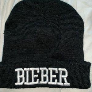 Justin Bieber Black Beanie